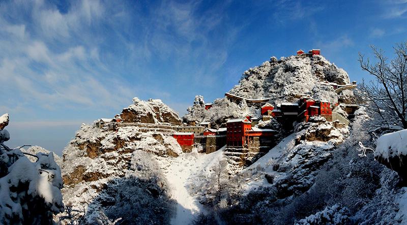 Monte Wudang 武当山